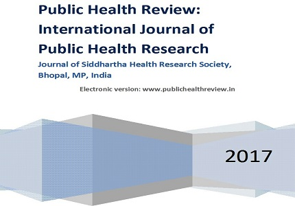 Child to parent education in prevention of acute respiratory in-fections in rural school under rural health training center