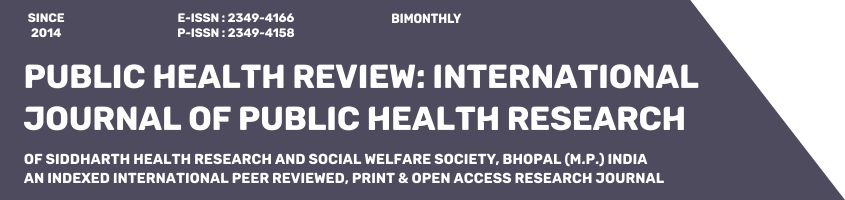 Public Health Review: International Journal of Public Health Research